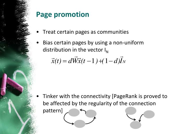 Page promotion