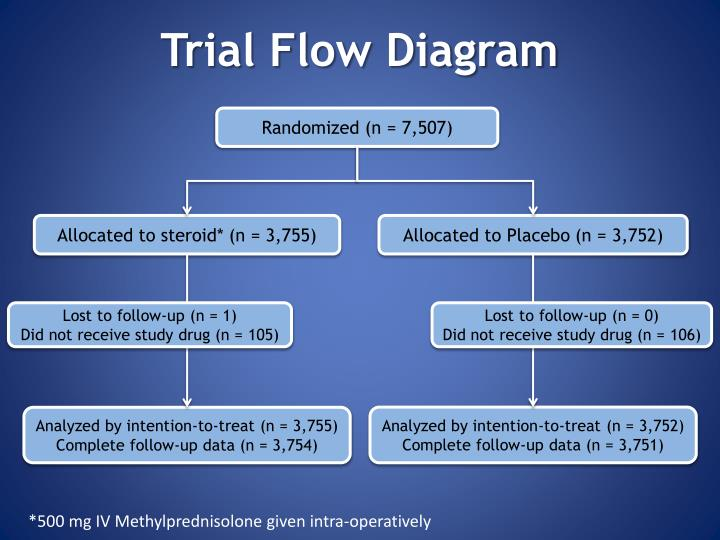 Trial Flow Diagram