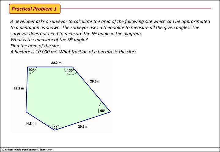 Practical Problem 1