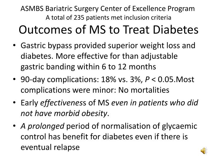 ASMBS Bariatric Surgery Center of Excellence Program