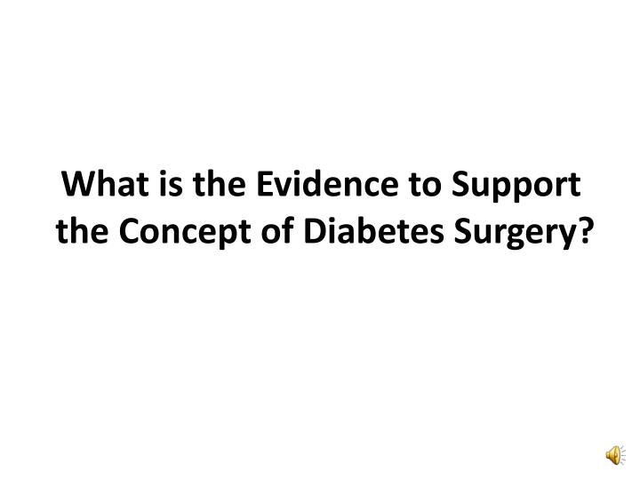 What is the Evidence to Support