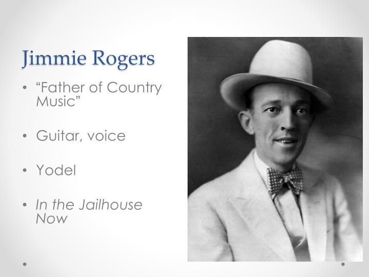 Jimmie Rogers