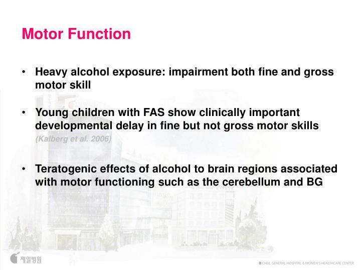 Motor Function