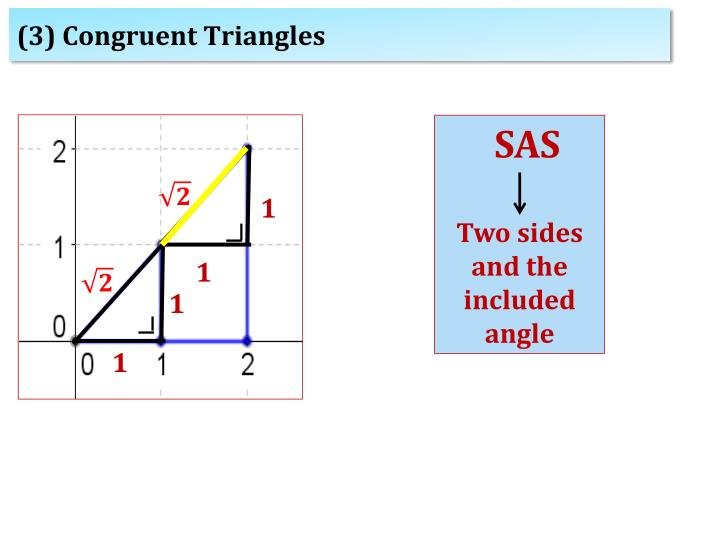 (3) Congruent Triangles