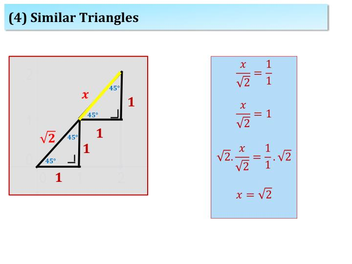 (4) Similar Triangles