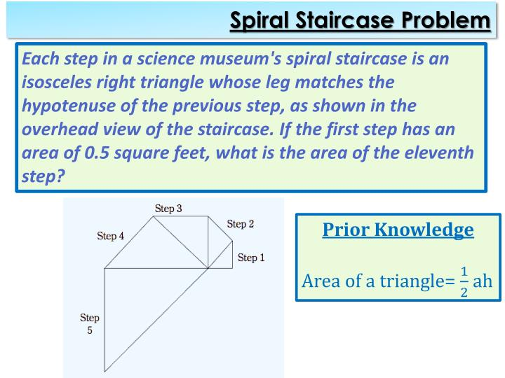 Spiral Staircase Problem