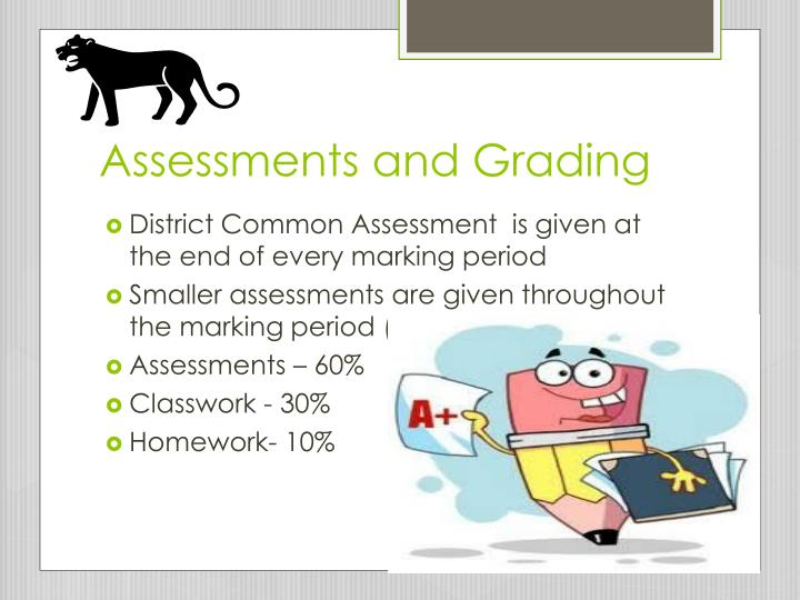 Assessments and Grading