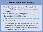 how to reference a website1