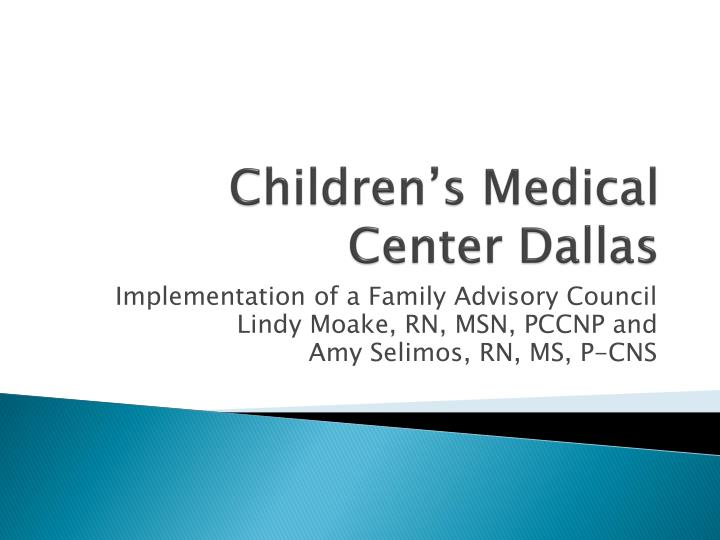Children s medical center dallas