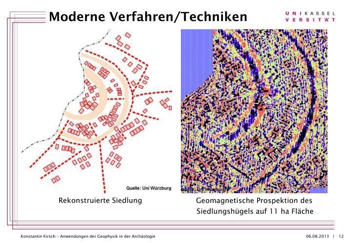 Geomagnetische Prospektion des