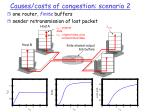 causes costs of congestion scenario 2