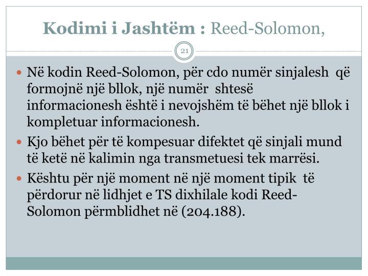 Kodimi i Jashtm :