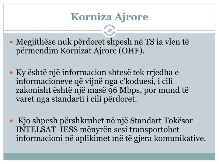 Korniza Ajrore