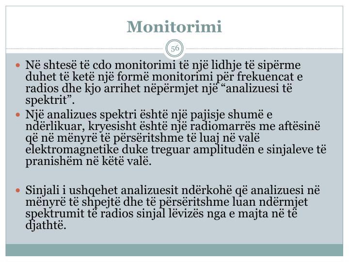 Monitorimi