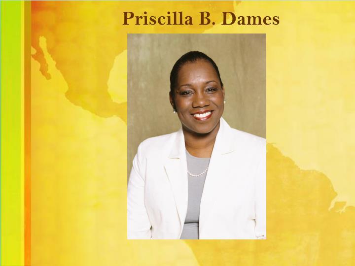 Priscilla B. Dames