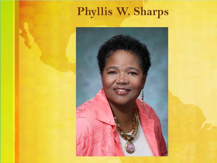 Phyllis W. Sharps