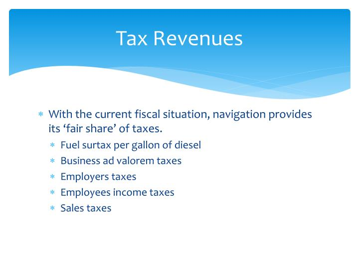 Tax Revenues