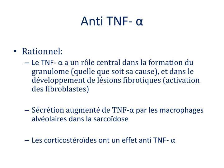 Anti TNF-