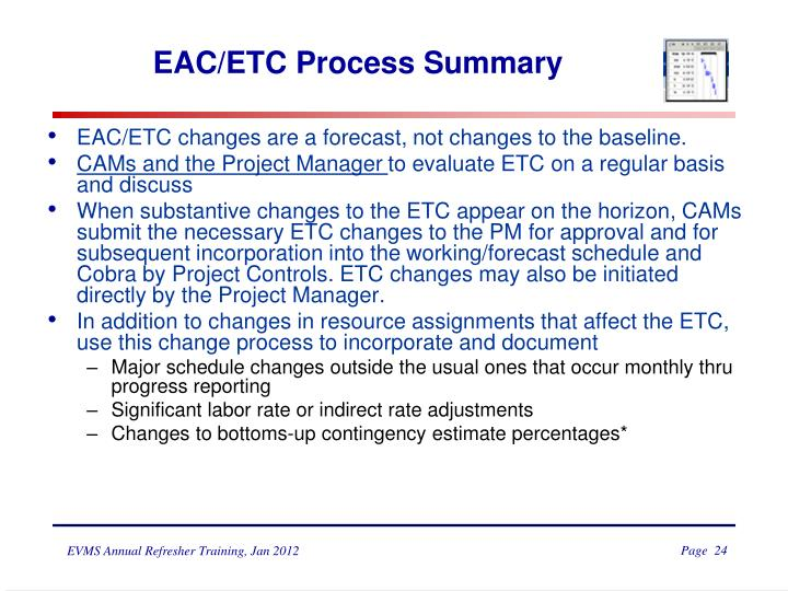 EAC/ETC Process Summary