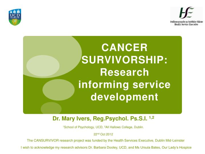 Dr. Mary Ivers, Reg.Psychol. Ps.S.I.