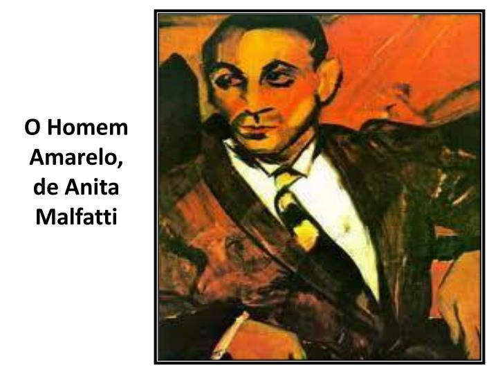 O Homem Amarelo, de Anita Malfatti