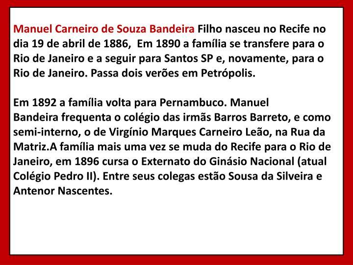 ManuelCarneiro de SouzaBandeira
