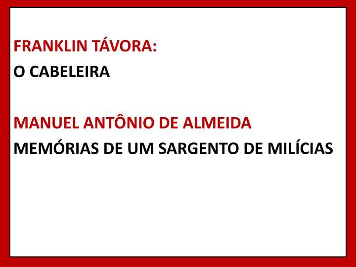 FRANKLIN TÁVORA: