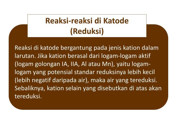 Reaksi-reaksi