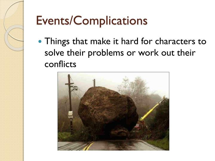 Events/Complications