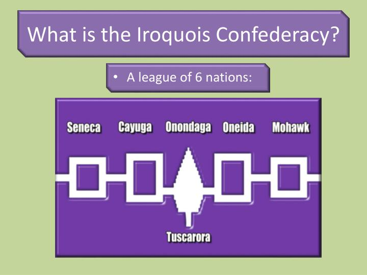 Ppt the iroquois haudenosaunee confederacy for League table 6 nations