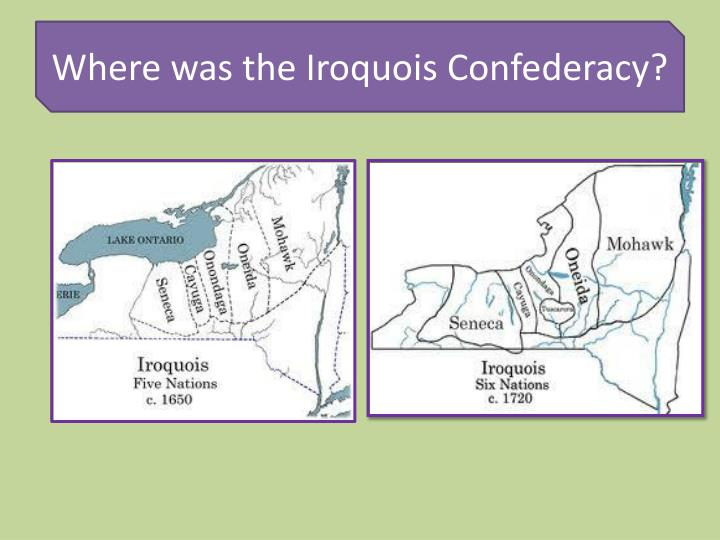the iroquois confederacy to six nations The cayuga nation's homeland is found in the finger lakes region of a territory   mohawk are the original members of the haudenosaunee (or iroquois  confederacy)  to canada now reside on the grand river reservation at six  nations.