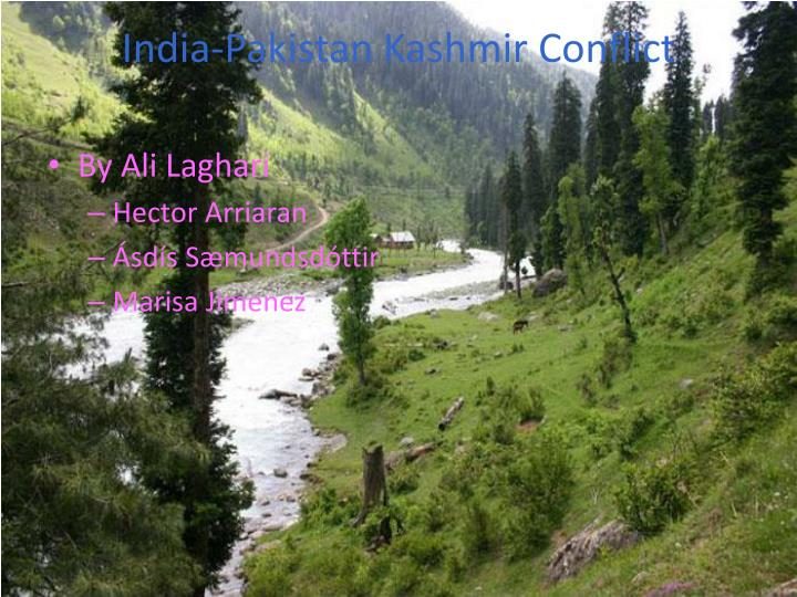 kashmir conflict india and pakistan Buy kashmir in conflict: india, pakistan and the unending war 3rd by victoria  schofield (isbn: 9781848851054) from amazon's book store everyday low.