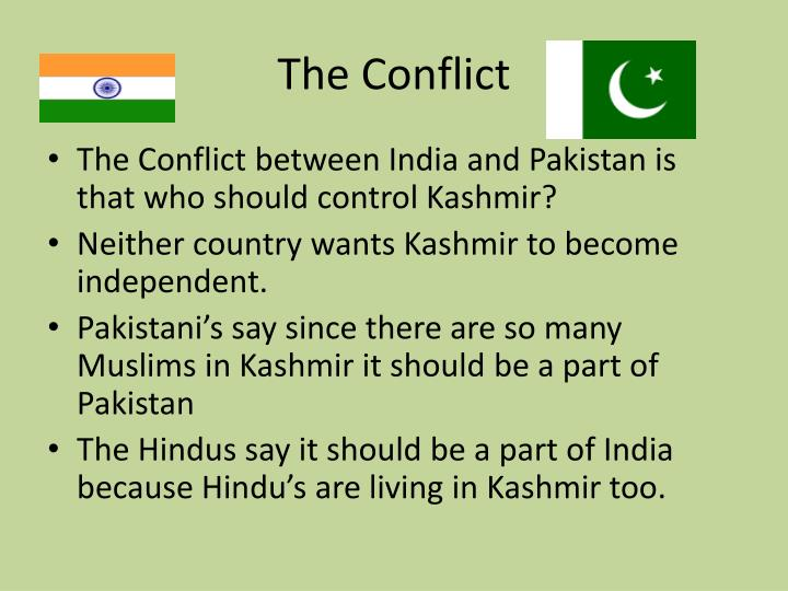 the problem of kashmir that led to conflict between india and pakistan The kashmir region has been at the heart of conflict between india and pakistan for nearly 70 years.
