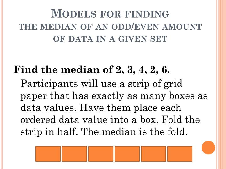 Models for finding