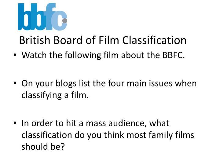 British Board of Film Classification
