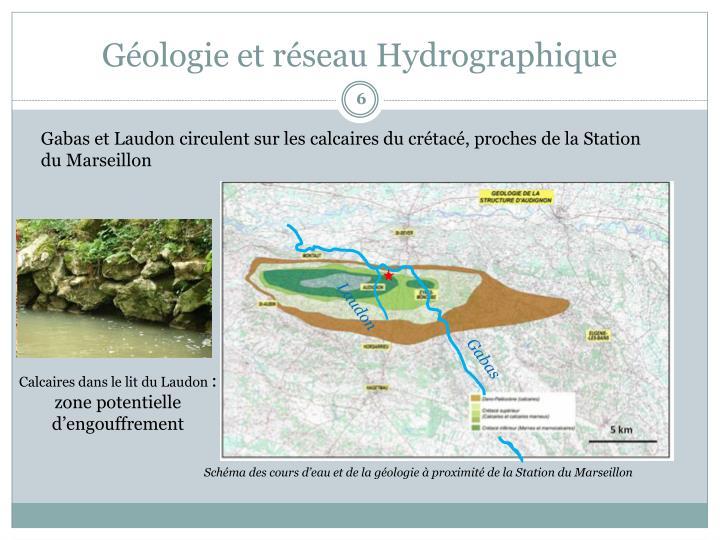 Géologie et réseau Hydrographique