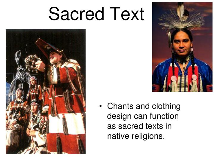 Chants and clothing
