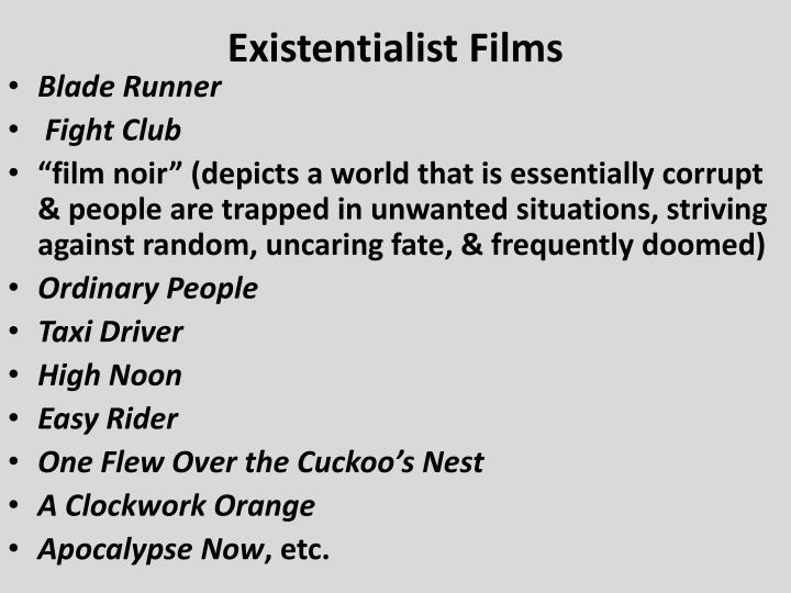 Existentialist Films