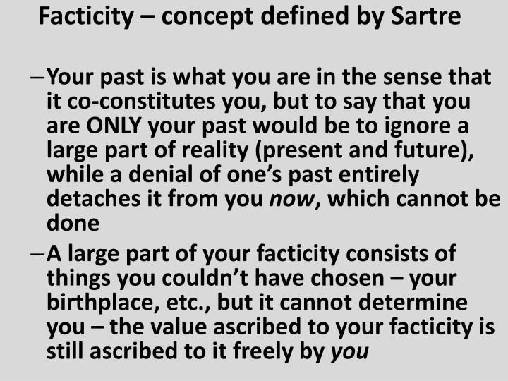 Facticity