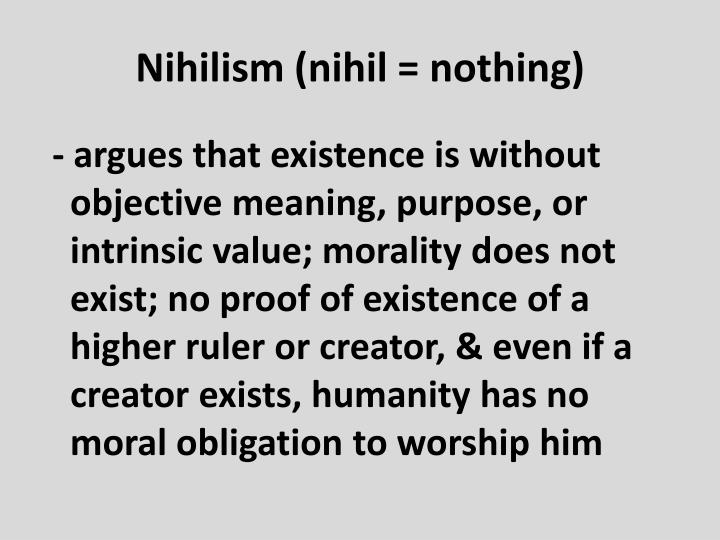 Nihilism (
