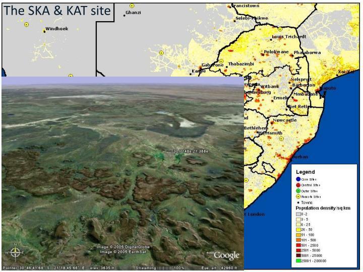 The SKA & KAT site