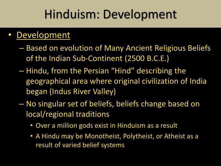 Hinduism: Development
