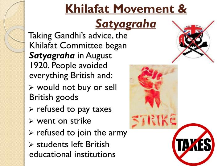 Khilafat Movement &