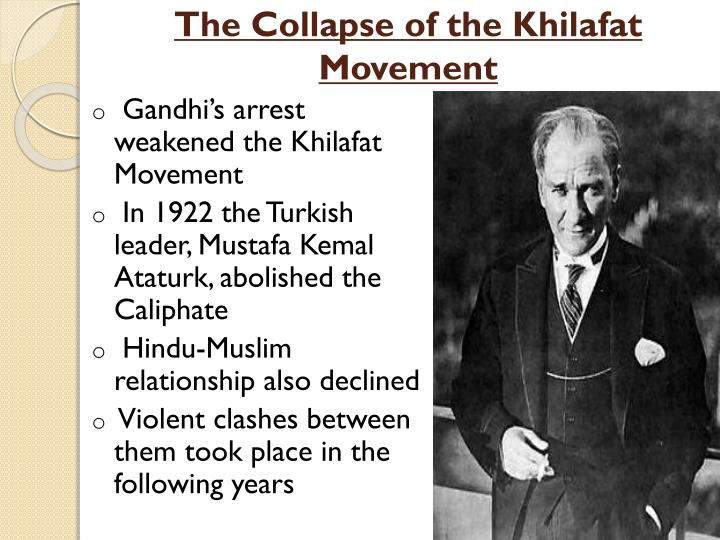 The Collapse of the Khilafat Movement