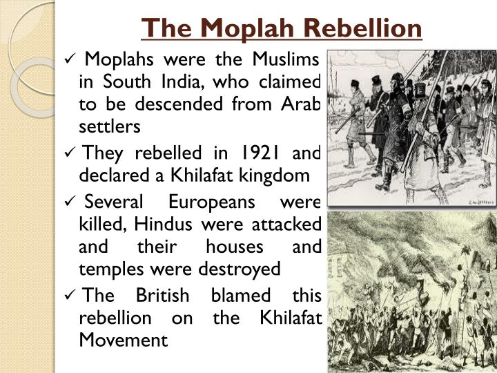 The Moplah Rebellion
