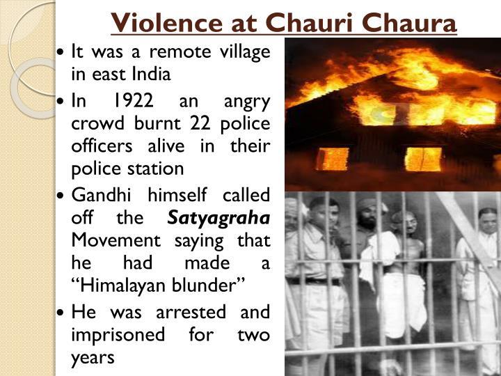 Violence at Chauri Chaura