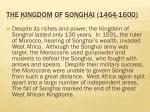 the kingdom of songhai 1464 16001
