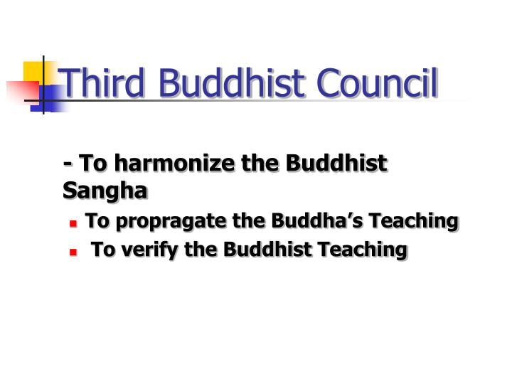 Third Buddhist Council