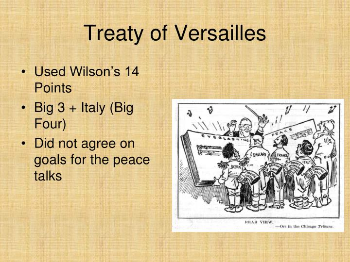 Treaty of versailles1