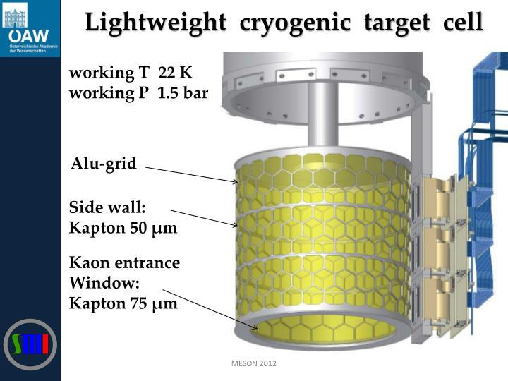 Lightweight  cryogenic  target  cell